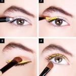 Sarı Eyeliner Makyajı Nasıl Yapılır? - Göz Makyajı Teknikleri Nelerdir?