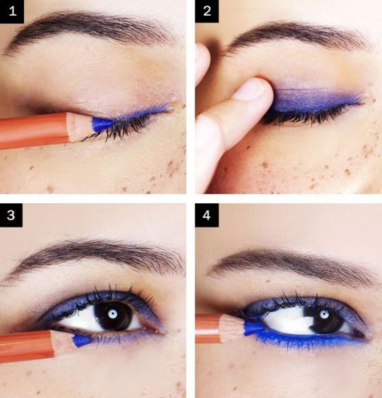 Lacivert Eyeliner Makyajı Nasıl Yapılır? - Göz Makyajı Teknikleri Nelerdir?