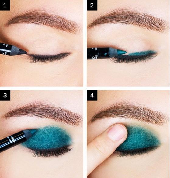Koyu Yeşil Eyeliner Makyajı Nasıl Yapılır? - Göz Makyajı Teknikleri Nelerdir?