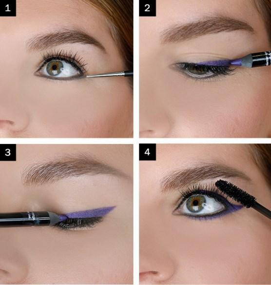 Koyu Mor Eyeliner Makyajı Nasıl Yapılır? - Göz Makyajı Teknikleri Nelerdir?