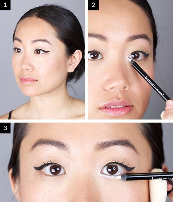Beyaz Eyeliner Nasıl Yapılır? - Göz Makyajı Teknikleri Nelerdir?