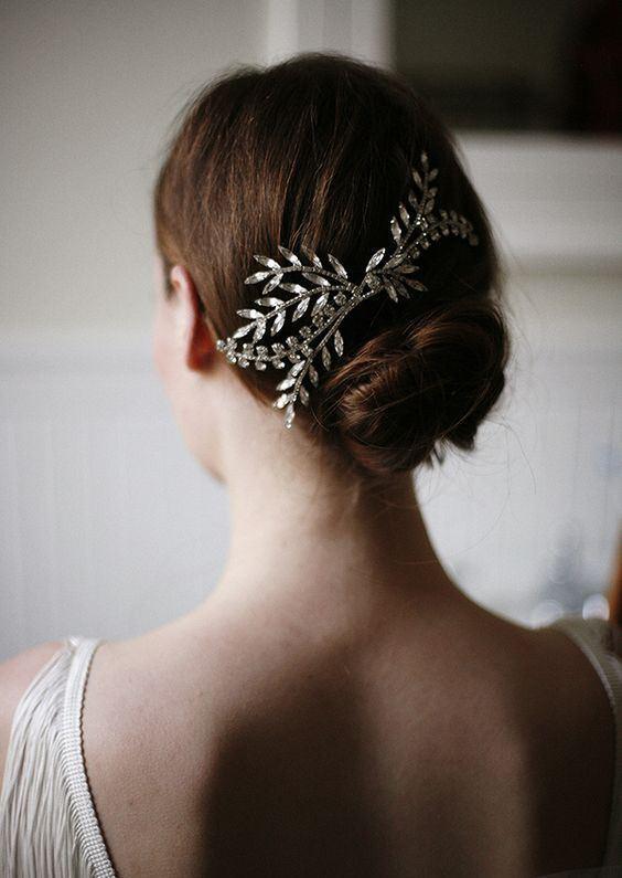 Tokalı Gelin Saçı Modelleri