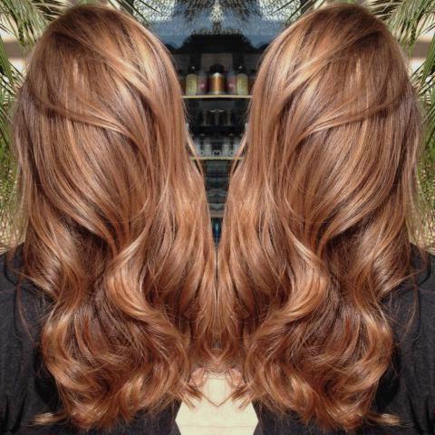 Karamel Saç Rengi-Saç Modelleri-Ombre-karamel saç renkleri-Caramel hair color (19)