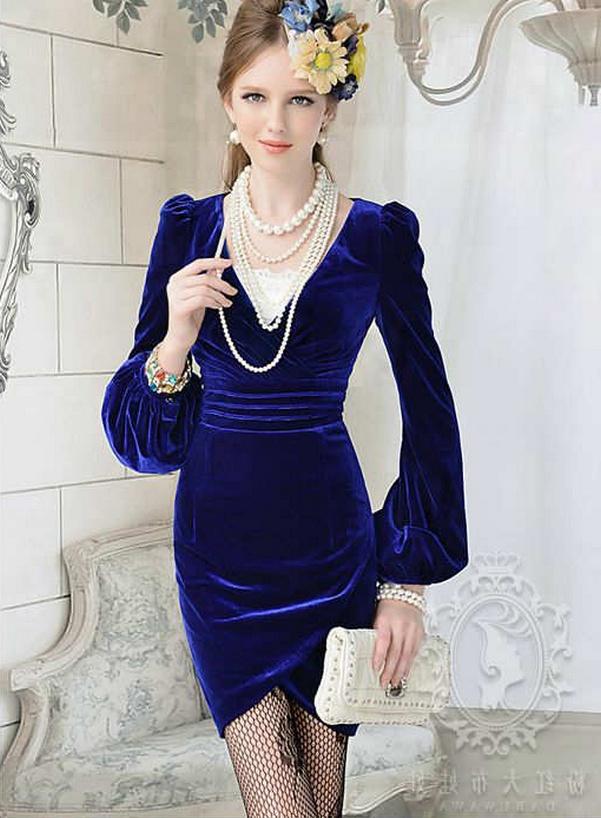 90b0b881add04 en-guzel-kadife-abiye-elbise-modelleri-27 | SadeKadınlar, Kıyafet ...