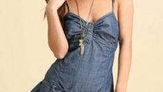 En Güzel Kot Elbise Modelleri