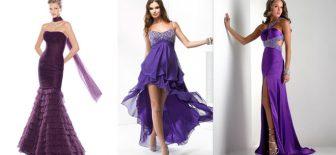 2018 Mor Abiye Elbise Modelleri Sezonun Yeni Trendi