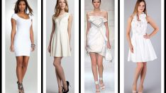 En Trend Beyaz Elbise Modelleri