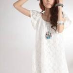 En Güzel 2021 Beyaz Elbise Modelleri
