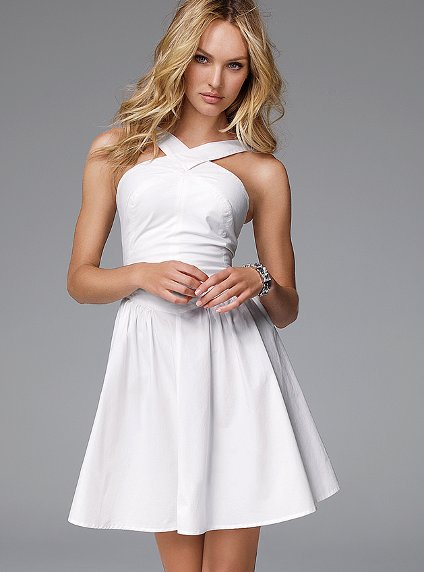 En Trend 2019 Beyaz Elbise Modelleri