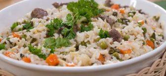 Etli ve Sebzeli Pirinç Pilavı Tarifi