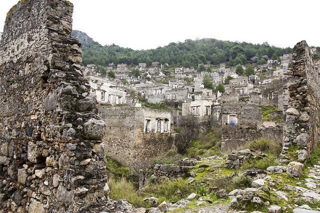 Hafta Sonu Tatili: Fethiye'nin Hayalet Şehri Kayaköy