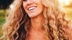 Kıvırcık Saçlılar İçin Gelin Saçı Modelleri