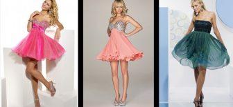 Mini Abiye Elbise Modelleri