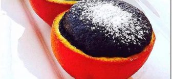 Portakal Kabuğunda Kakaolu Kek Tarifi