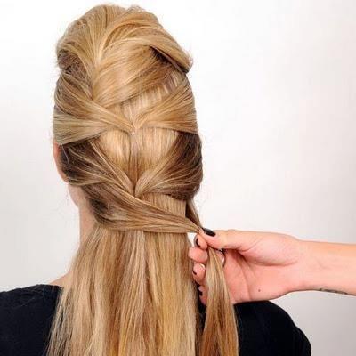Zikzak Saç Modeli Yapımı