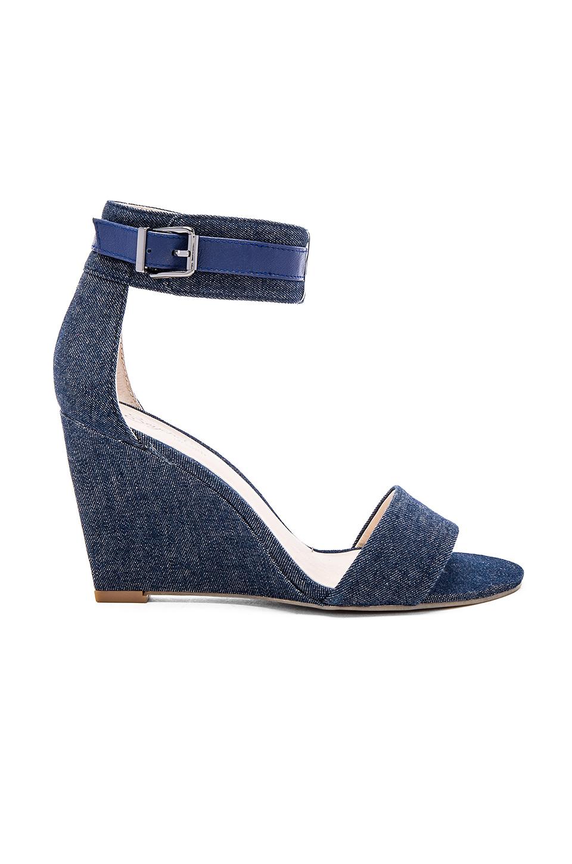 Mavi Şık Dolgu Topuk Ayakkabı Modelleri 75 Yeni Model