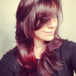 Dark Red Hair Color - Hairstyles Ideas - New Hair Style (11)