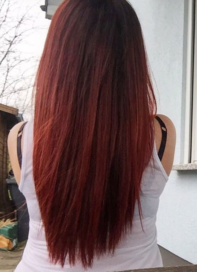 Dark Red Hair Color - Hairstyles Ideas - New Hair Style (14)