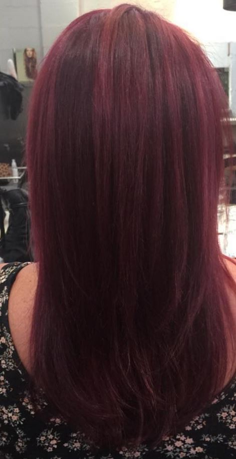 Dark Red Hair Color - Hairstyles Ideas - New Hair Style (15)