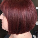 Dark Red Hair Color - Hairstyles Ideas - New Hair Style (16)