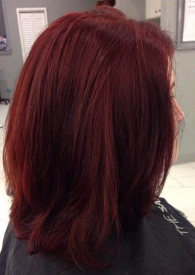 Dark Red Hair Color - Hairstyles Ideas - New Hair Style (18)