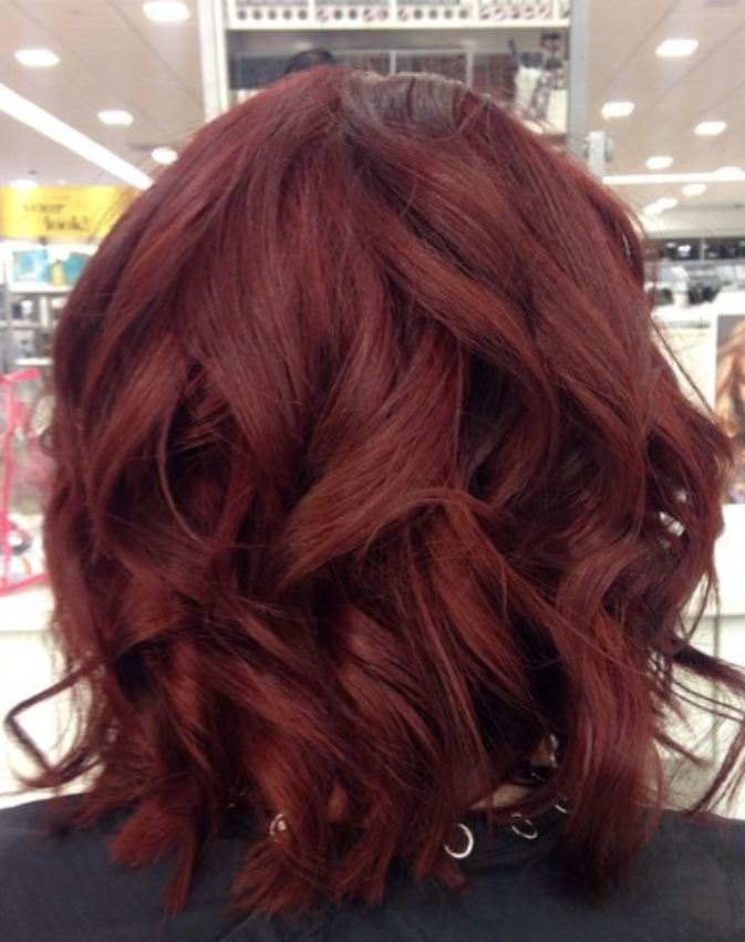 Dark Red Hair Color - Hairstyles Ideas - New Hair Style (19)