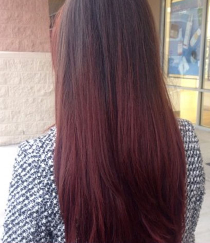 Dark Red Hair Color - Hairstyles Ideas - New Hair Style (20)