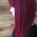 Dark Red Hair Color - Hairstyles Ideas - New Hair Style (21)