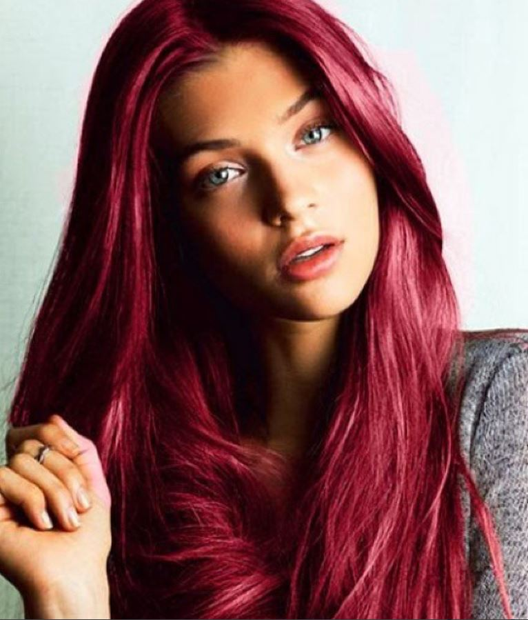 Dark Red Hair Color - Hairstyles Ideas - New Hair Style (3)
