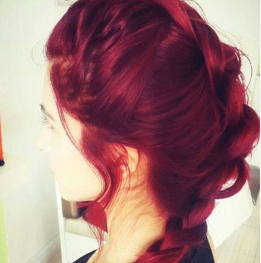 Dark Red Hair Color - Hairstyles Ideas - New Hair Style (5)