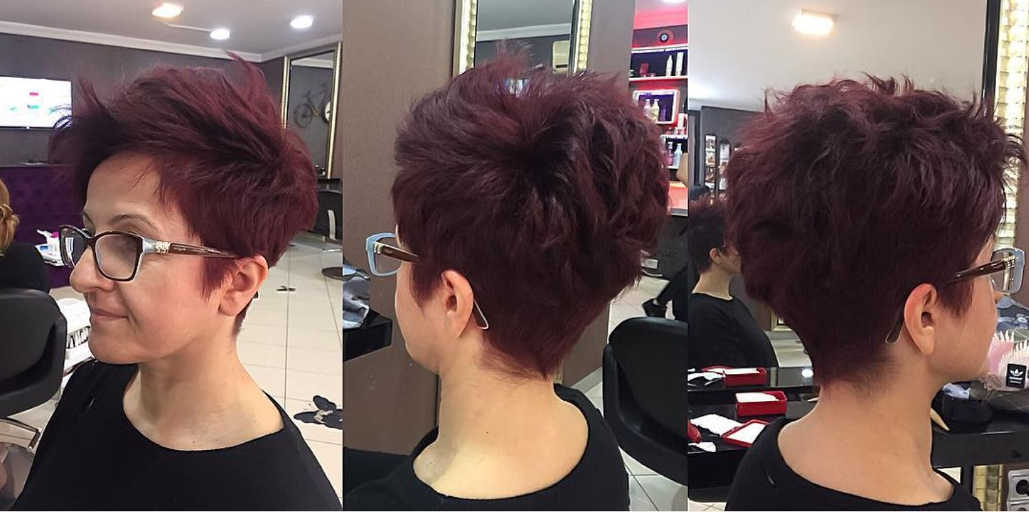 Dark Red Hair Color - Hairstyles Ideas - New Hair Style (7)
