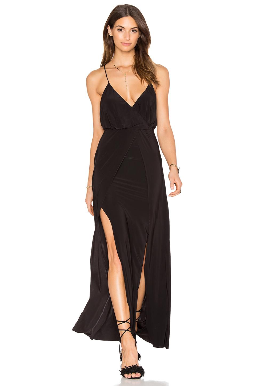En Şık Uzun Elbise Modelleri - Gece Elbiseleri 2019 Siyah Askılı