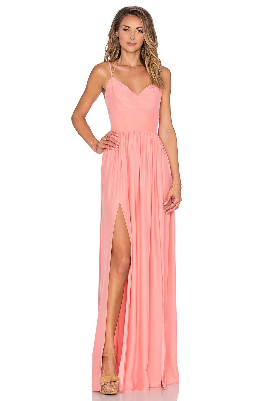 Pudra Uzun Elbise Modelleri - Gece Elbiseleri