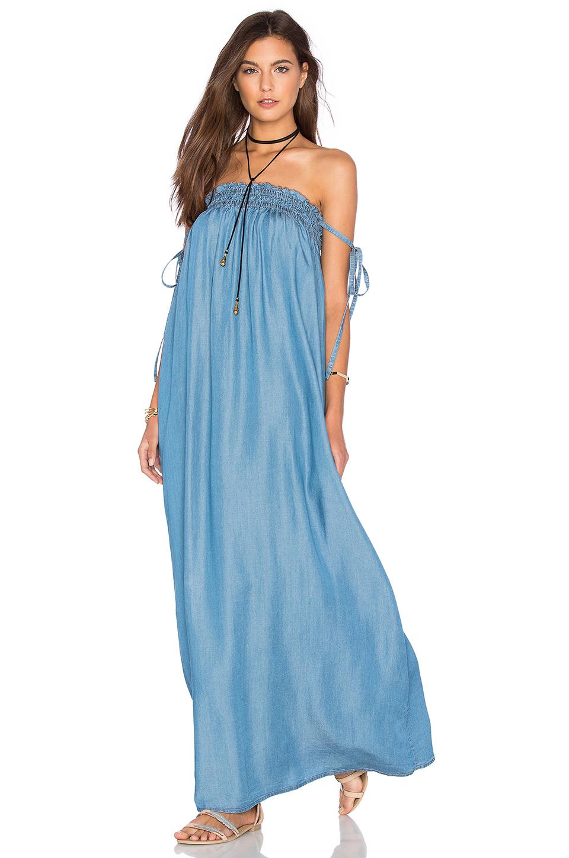 Mavi Straplez Uzun Elbise Modelleri & Gece Elbiseleri