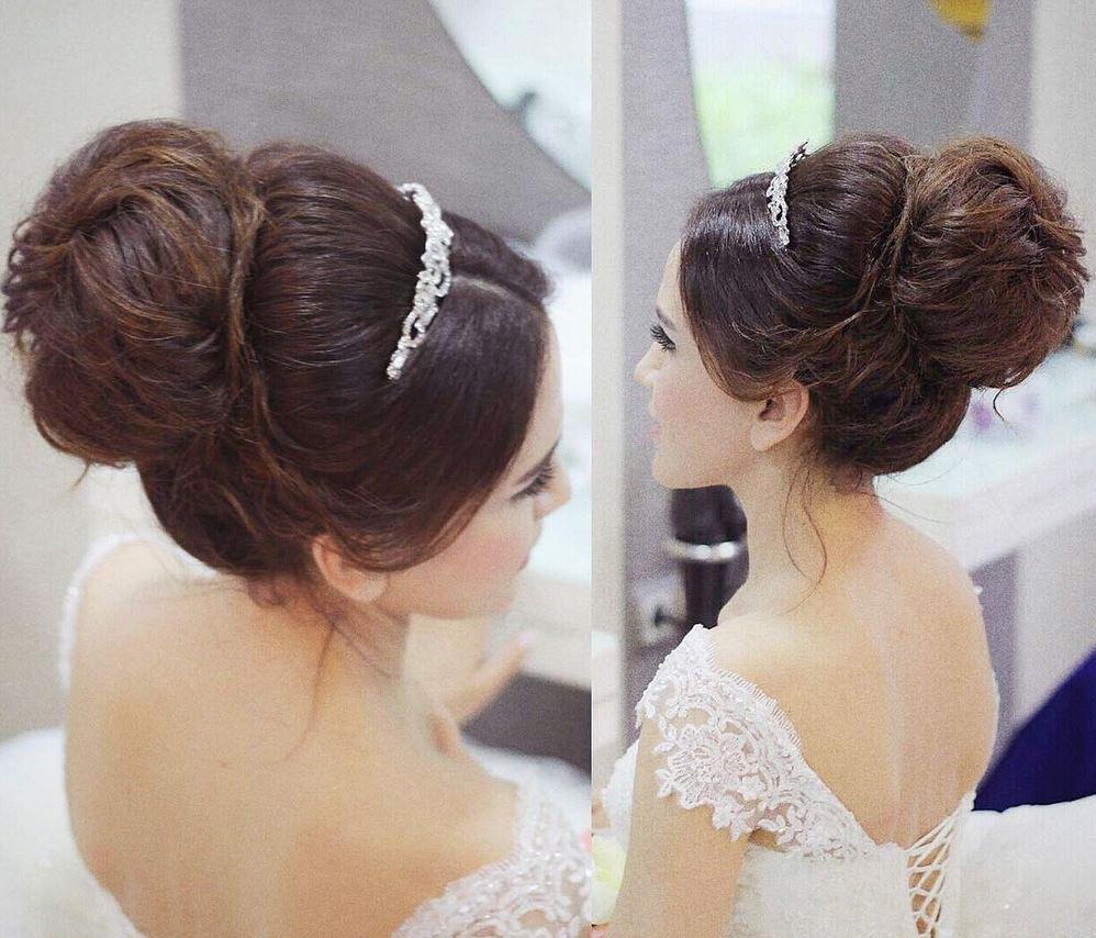 En Güzel Gelin Saç Modelleri - Gelin Başı Topuz Modelleri (1)