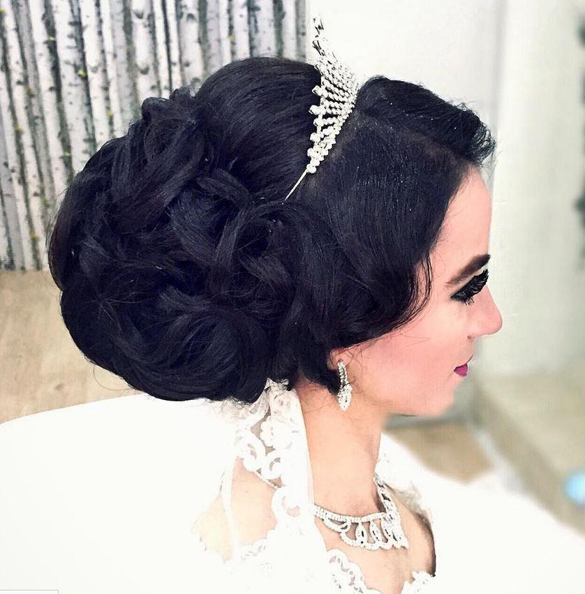 En Güzel Gelin Saç Modelleri - Gelin Başı Topuz Modelleri (13)