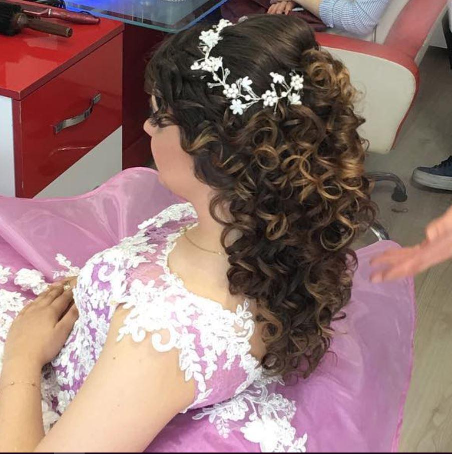 2019 Sade Gelin Saç Modelleri