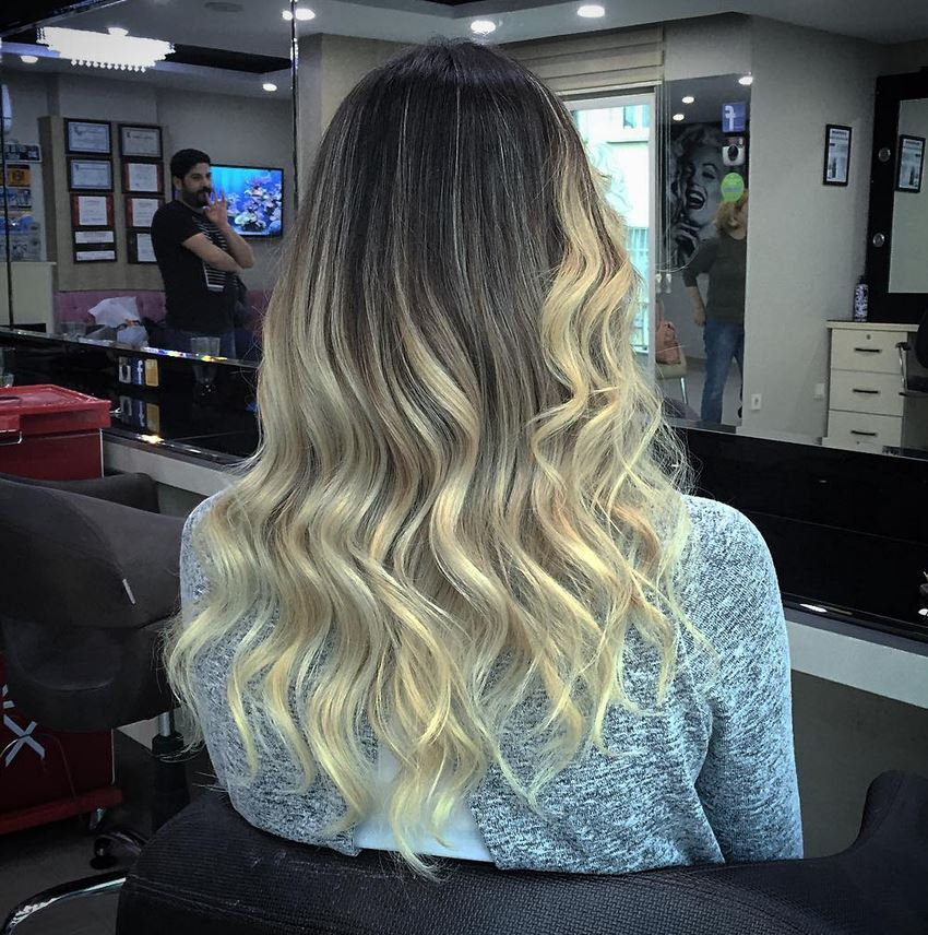 Ombre Hair-Blonde Ombre Hair-Brown Ombre Hair-Hair Color Ideas (10)
