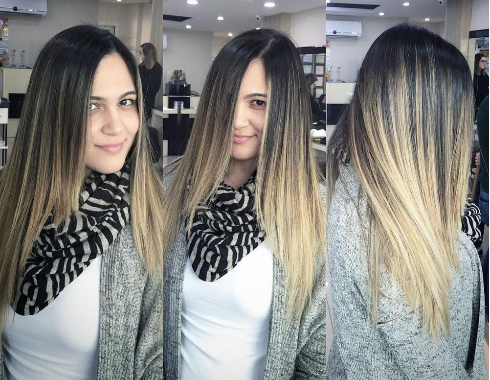 Ombre Hair-Blonde Ombre Hair-Brown Ombre Hair-Hair Color Ideas (14)
