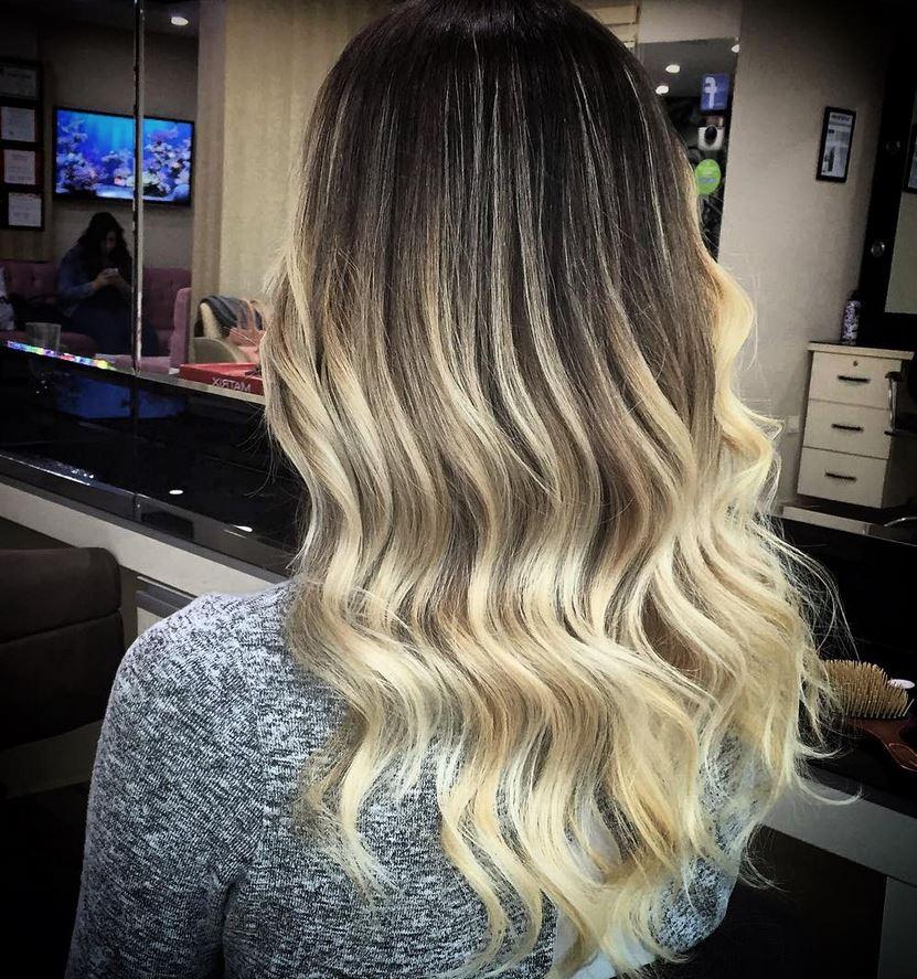 Ombre Hair-Blonde Ombre Hair-Brown Ombre Hair-Hair Color Ideas (20)