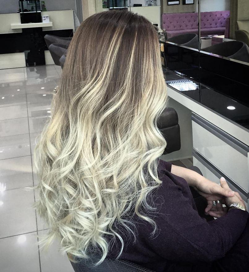 Ombre Hair-Blonde Ombre Hair-Brown Ombre Hair-Hair Color Ideas (9)