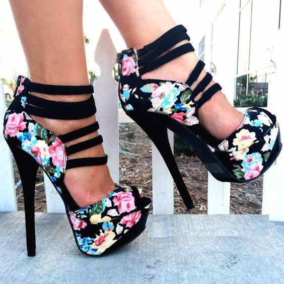 Topuklu Ayakkabı - Bayan Ayakkabı Modelleri - Stiletto (38)