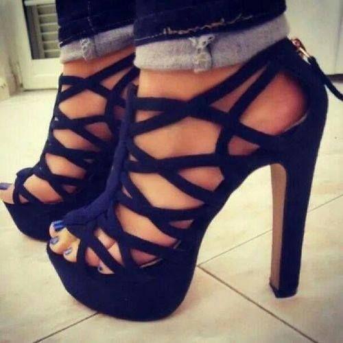 Topuklu Ayakkabı - Bayan Ayakkabı Modelleri - Stiletto (50)