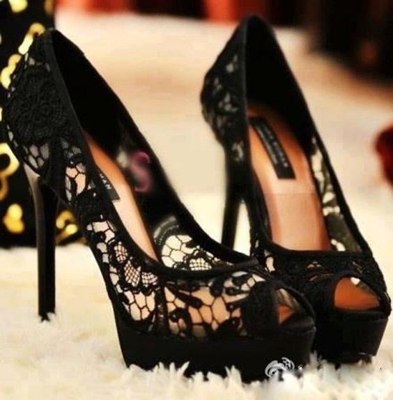 Topuklu Ayakkabı - Bayan Ayakkabı Modelleri - Stiletto (58)