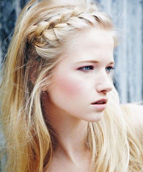 Örgü Saç Modelleri