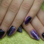 black nail art-nails-nailart-nail art-nail art designs-nail designs-oje desenleri (14)