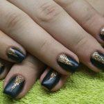 black nail art-nails-nailart-nail art-nail art designs-nail designs-oje desenleri (15)