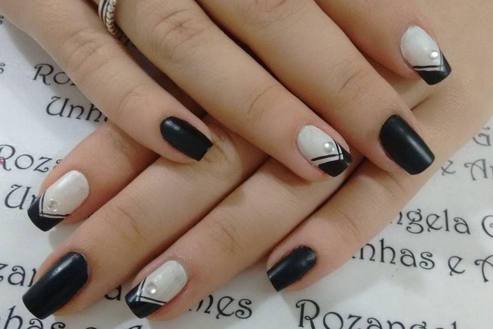 black nail art-nails-nailart-nail art-nail art designs-nail designs-oje desenleri (18)