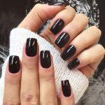 black nail art-nails-nailart-nail art-nail art designs-nail designs-oje desenleri (19)