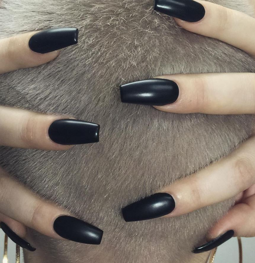 black nail art-nails-nailart-nail art-nail art designs-nail designs-oje desenleri (20)